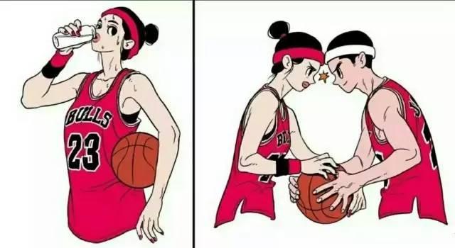 有個同樣熱愛籃球的女朋友是種什麼樣的體會?