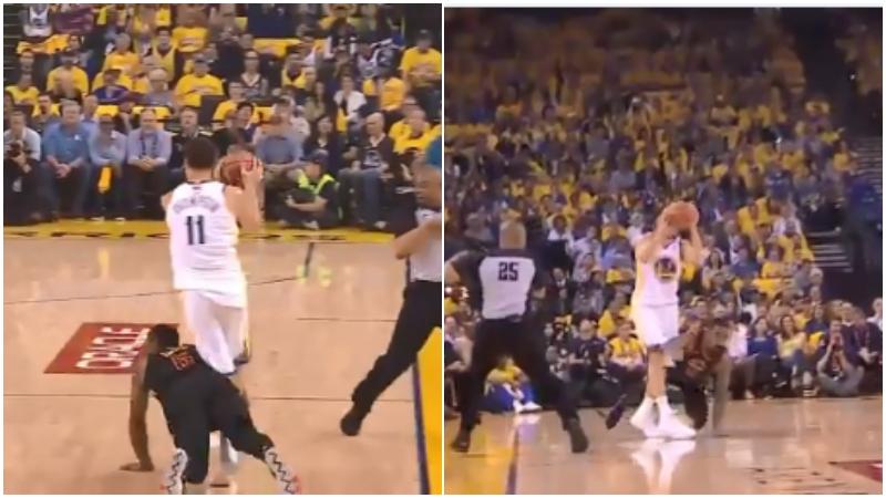 【影片】突發傷病!K湯腿部遭JR撞擊受傷,現已回到更衣室!