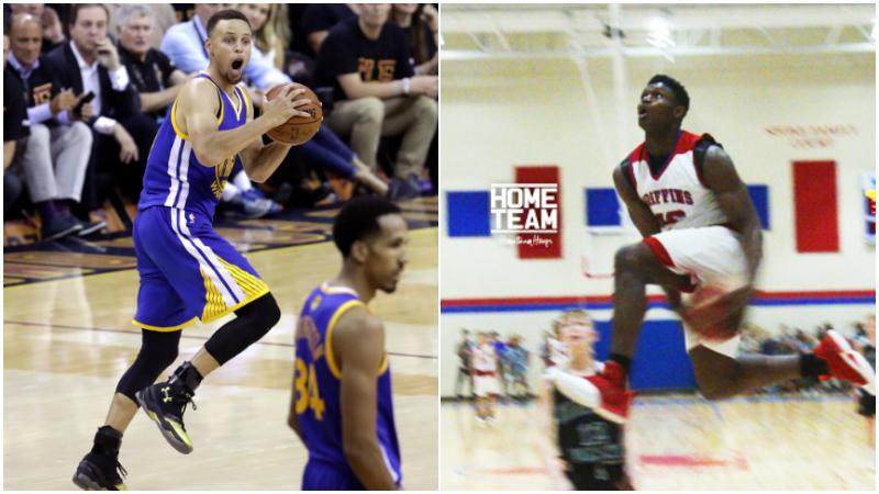 彈跳120釐米超LaVine,柯瑞都視他為偶像,此人有望成NBA下一個詹姆斯!