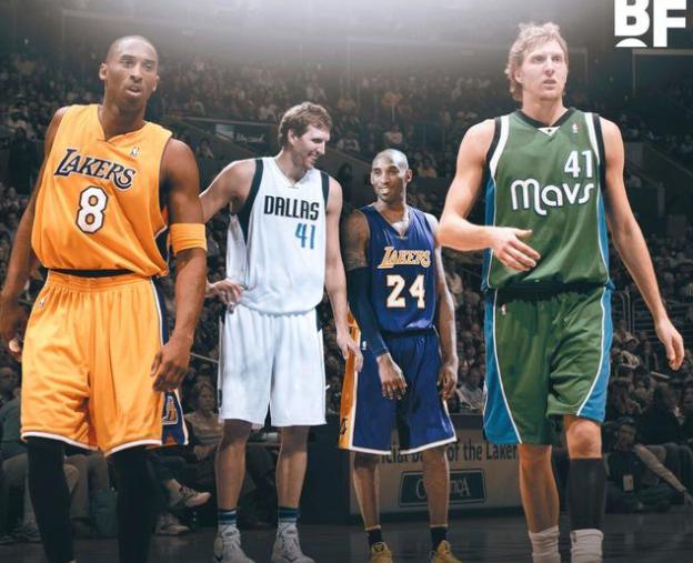 英雄相惜!Kobe曝光招募Nowitzki內幕,德佬一句話讓Kobe也點頭微笑!