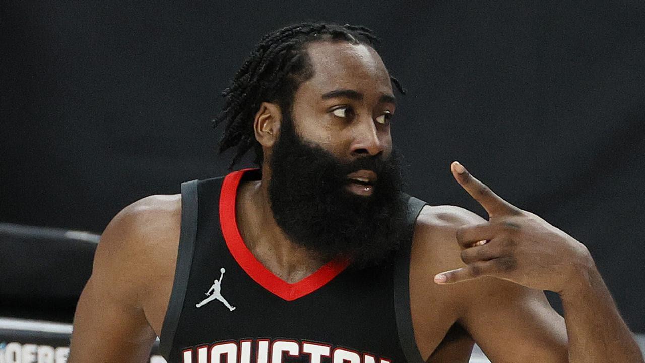 NBA公佈首週數據王!哈登得分助攻均登頂,士官長領跑抄截榜!