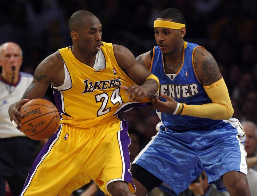 ESPN揭秘:安東尼 VS Kobe單挑是教科書,99%的人都防不住!