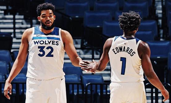 兩連勝+兩戰33分!灰狼新科狀元不說空話:NBA真的很簡單!(影)-籃球圈
