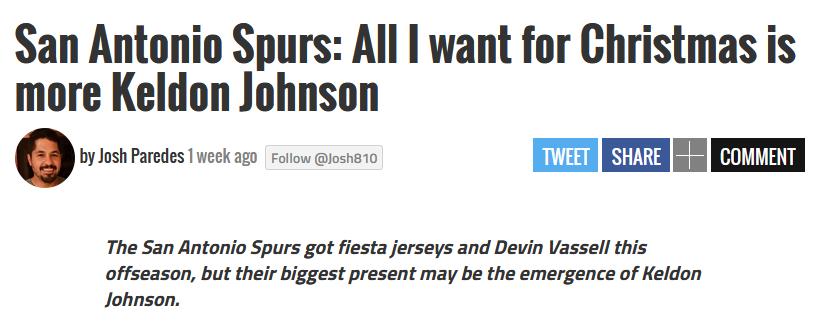 Keldon Johnson會是波波維奇為馬刺孵化的下一個「Kawhi Leonard」?-黑特籃球-NBA新聞影音圖片分享社區