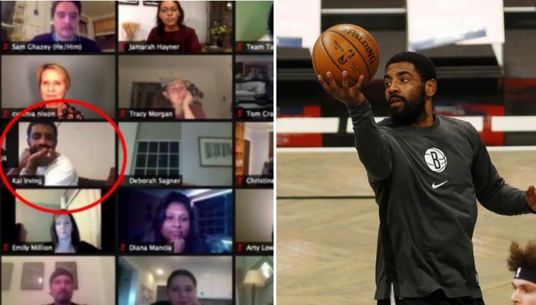 厄文又秀神操作!籃網比賽期間不關注球隊,卻開會議探討正義,還臨時改名為Kai Irving…-黑特籃球-NBA新聞影音圖片分享社區