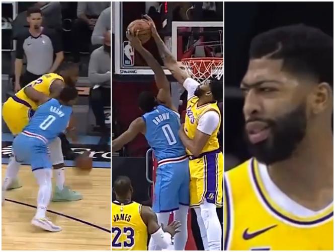 【影片】我詹哥的球你都敢搶,還想隔扣我?一眉哥正面直接摁翻布朗的灌籃,表情太霸氣!-黑特籃球-NBA新聞影音圖片分享社區