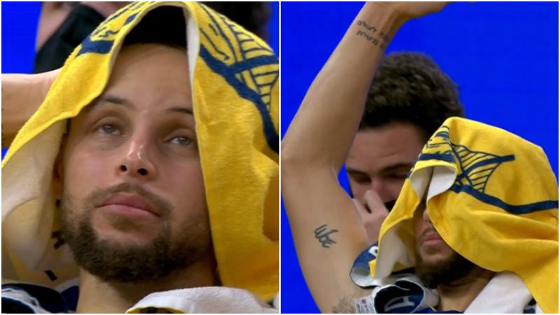 難阻失利!柯瑞砍30分末節險些演逆轉,面對判罰他眼神絕望+拿毛巾遮面!(影)