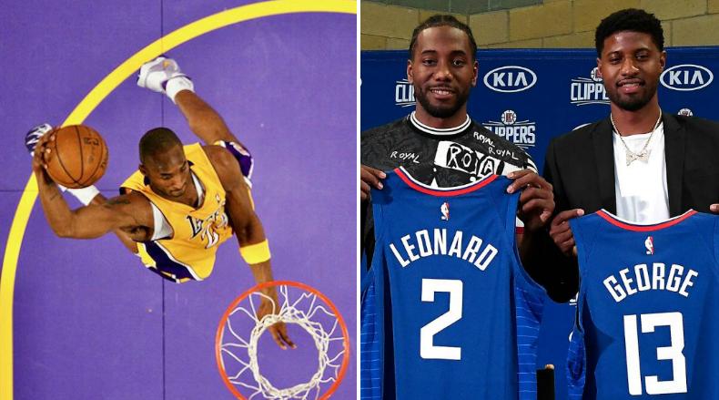 泰倫盧稱快艇雙星瘋狂崇拜老大:Leonard和George總在問我,Kobe當年是怎麼打球?