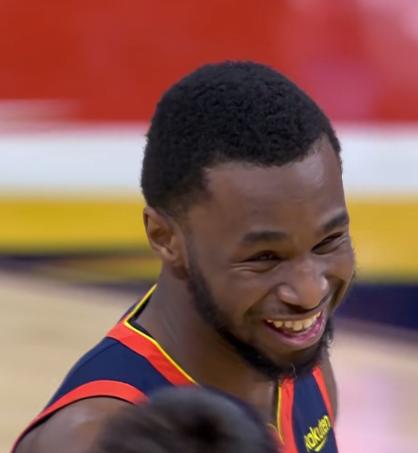 Curry最後階段瘋狂餵球Wiggins,賽後他很感動:找不到不終老勇士的理由!(影)-籃球圈
