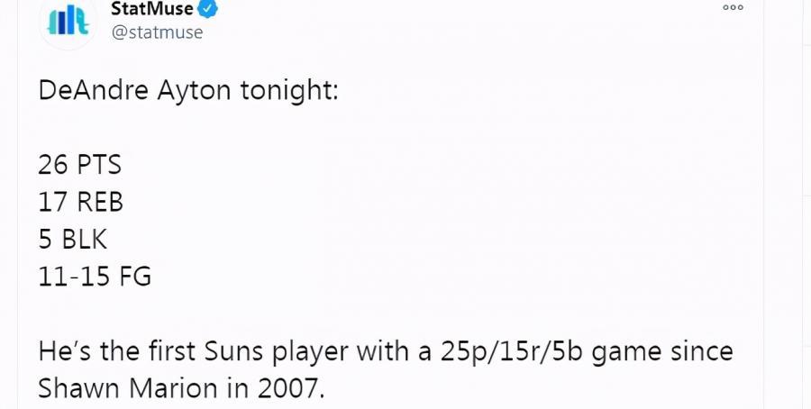 在保羅身邊打球的好處!Ayton轟26+17+5讓對手無可奈何,創兩紀錄摧毀火箭!(影)-籃球圈