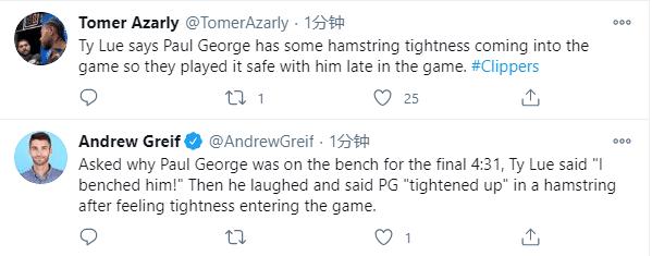 身為球隊核心,最後關鍵4分多鐘喬治卻被按在後補席,泰倫盧賽後給出棄用真正原因!(影)-籃球圈