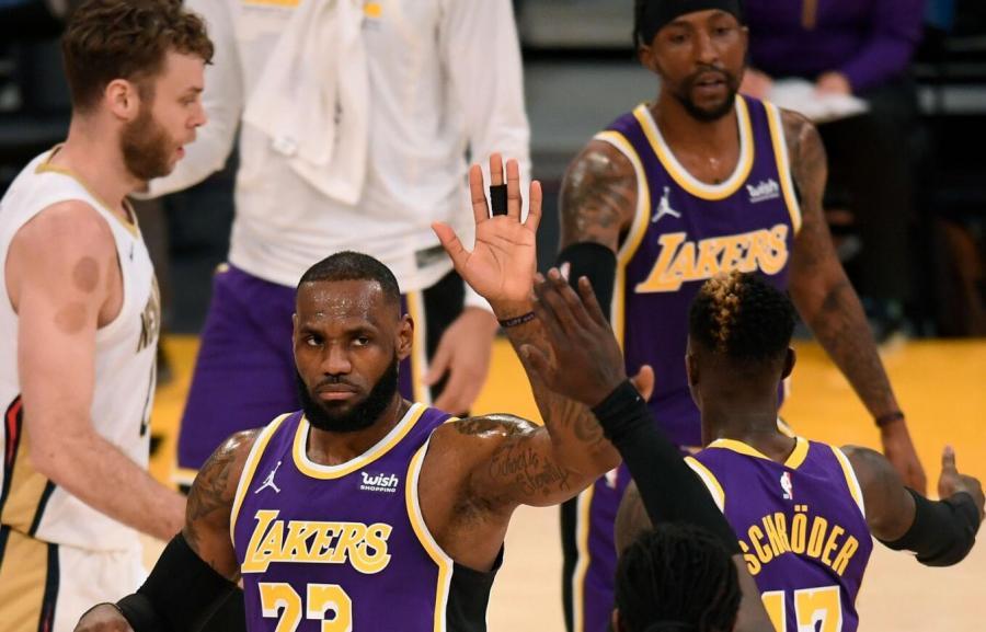 ESPN最新球隊實力榜出爐:湖人穩居第一,籃網升至第六,火箭狂跌!
