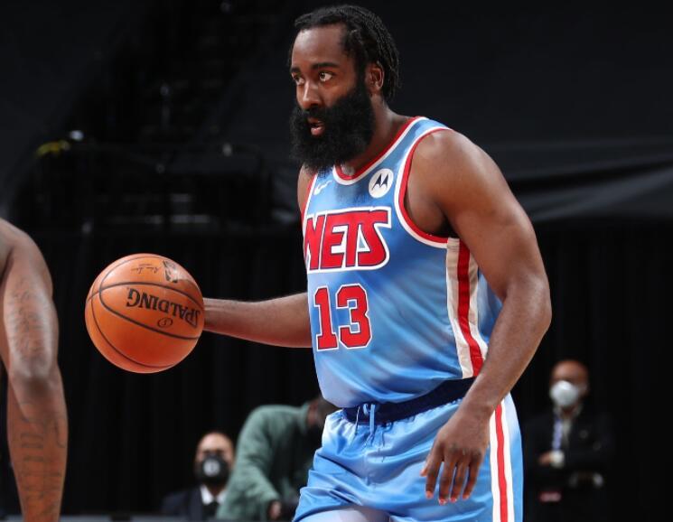 哈杜擋拆太無解!大鬍子首秀即轟30+大三元,可籃網想要奪冠還需解決這一問題!(影)-籃球圈