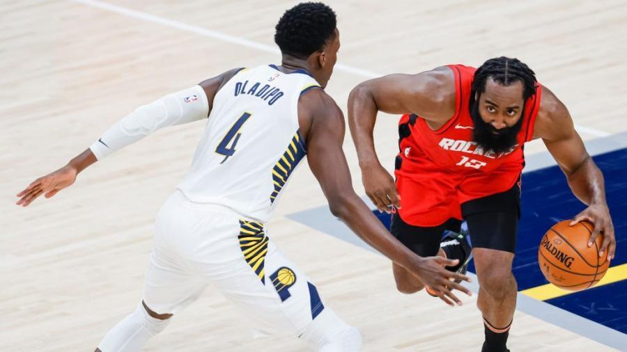 多方交易達成!哈登正式交易到籃網,火箭得到Oladipo+4個首輪簽!