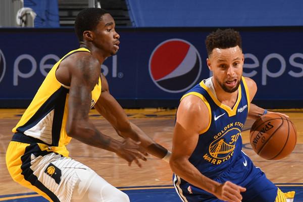 Sabonis 18+14+6,溜馬末節使用Box-1戰術一波帶走勇士,Curry受限得20分!(影)