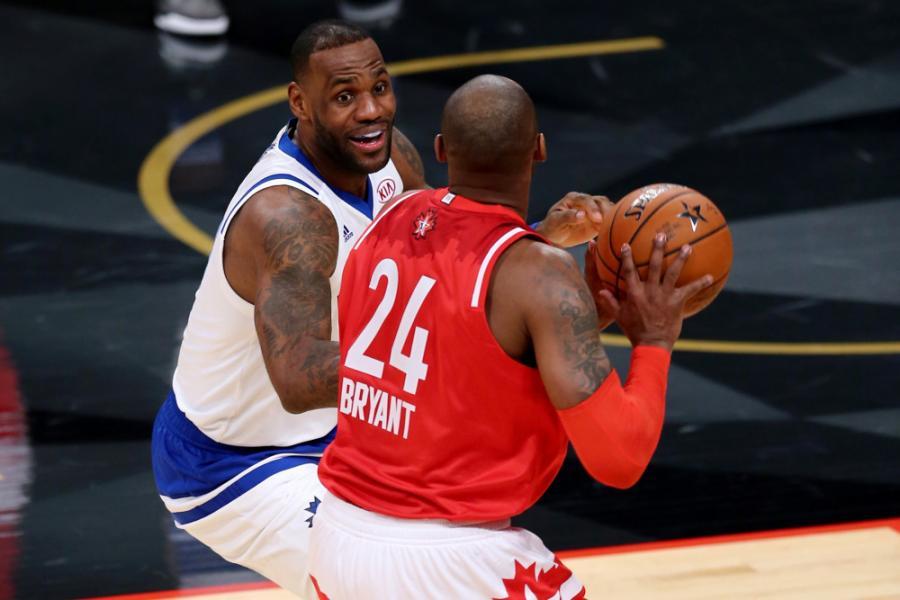 詹姆斯評價科比模仿喬丹動作:很多人想學喬丹,但只有科比一個人做到了!-籃球圈