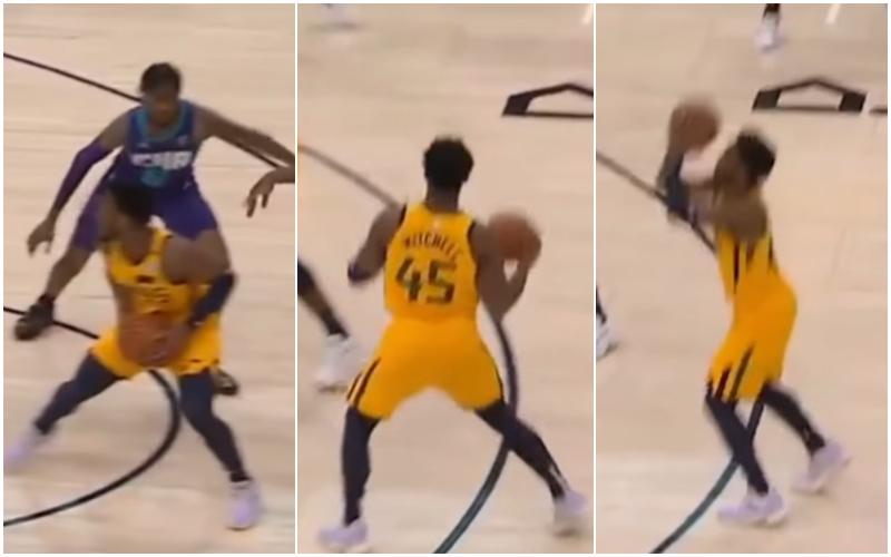 【影片】後散步三分?Mitchell弧頂後退兩步把三分投進,裁判沒有理會,解說都笑了:WOW!-黑特籃球-NBA新聞影音圖片分享社區