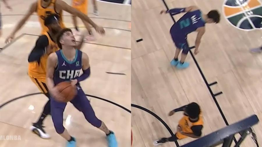 【影片】欺負老實人?三球面對Conley得分後,挑釁聯盟好好先生:你太矮了,防不住我!-黑特籃球-NBA新聞影音圖片分享社區