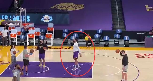 湖人迎來好消息!戴維斯參與賽前定點投籃訓練,球隊希望他兩週內回歸!