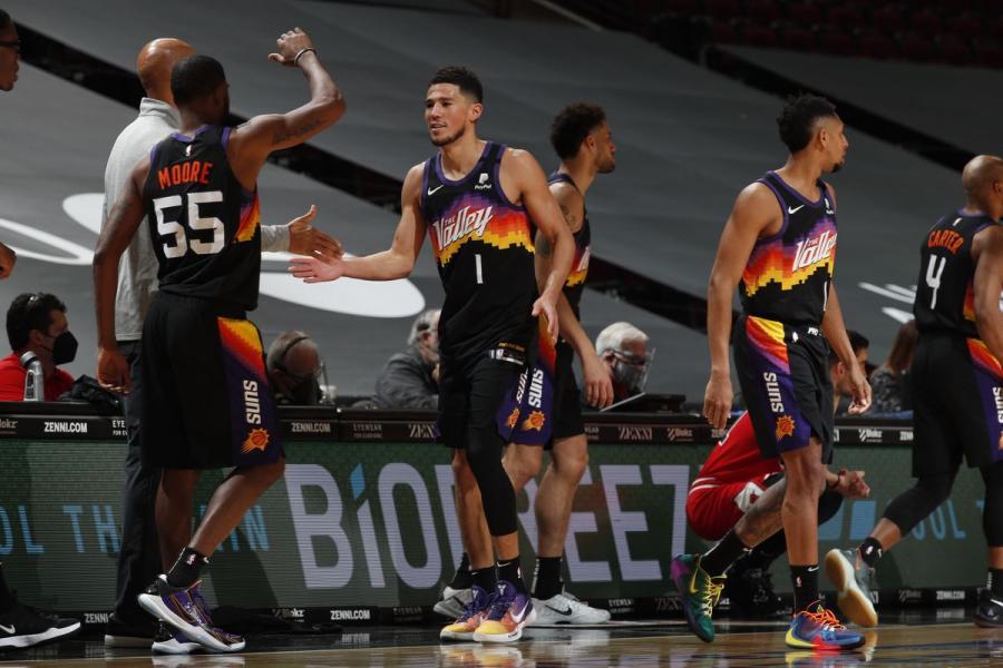 太陽為何能衝到西區前四?陣容完善是關鍵,Paul加盟為球隊注入能量!-黑特籃球-NBA新聞影音圖片分享社區