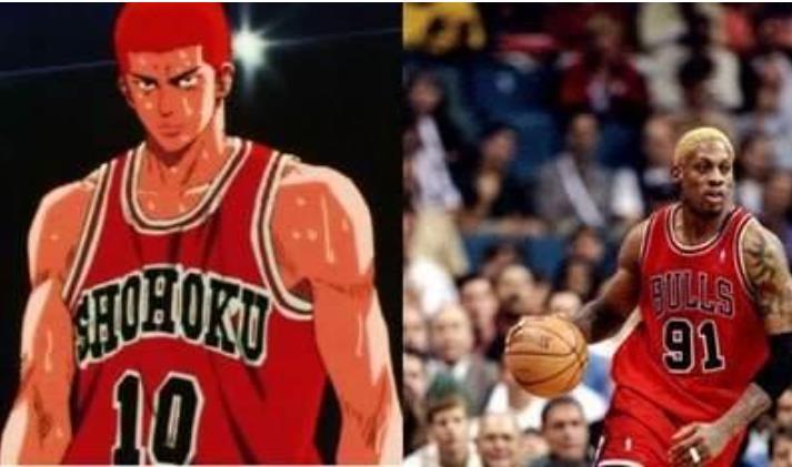 每一個都是風雲人物!那些《灌籃高手》中人物對應的NBA原型,櫻木花道果然是他!-籃球圈