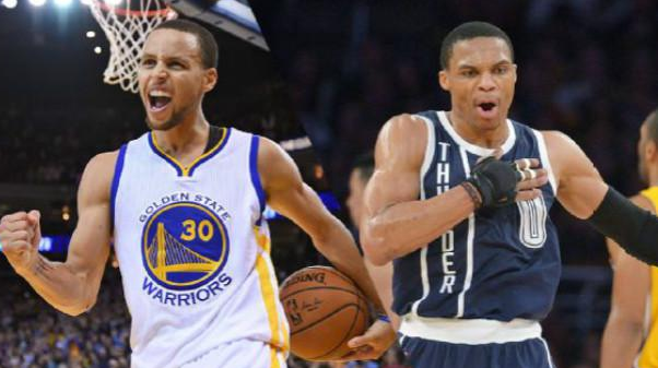 兩人身高相差無幾!為何Curry與Westbrook的灌籃差距這麼大?-籃球圈