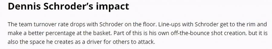 Schroder對湖人有多重要?一復出就給球隊帶來巨變,五大方面證明他不可或缺!-黑特籃球-NBA新聞影音圖片分享社區
