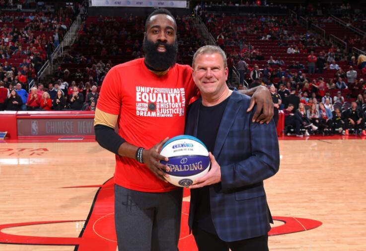 最高禮遇!火箭老闆宣佈將會退役哈登13號球衣:他帶來8年巨大成功!-黑特籃球-NBA新聞影音圖片分享社區