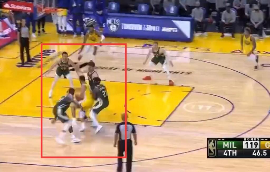 【影片】柯瑞吸引四人防守,顛覆球迷對籃球比賽認知,喬丹科比都沒這待遇!-黑特籃球-NBA新聞影音圖片分享社區