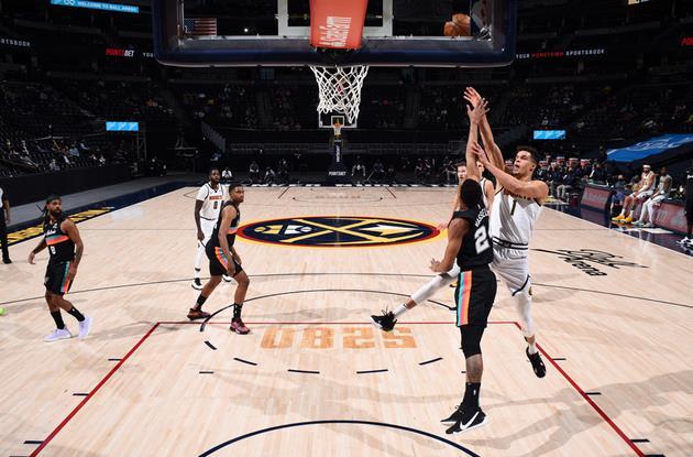 Jokic 25+9+10,Porter 18+10,Murray 18分5籃板6助攻,金塊勝馬刺取七連勝(影)-黑特籃球-NBA新聞影音圖片分享社區