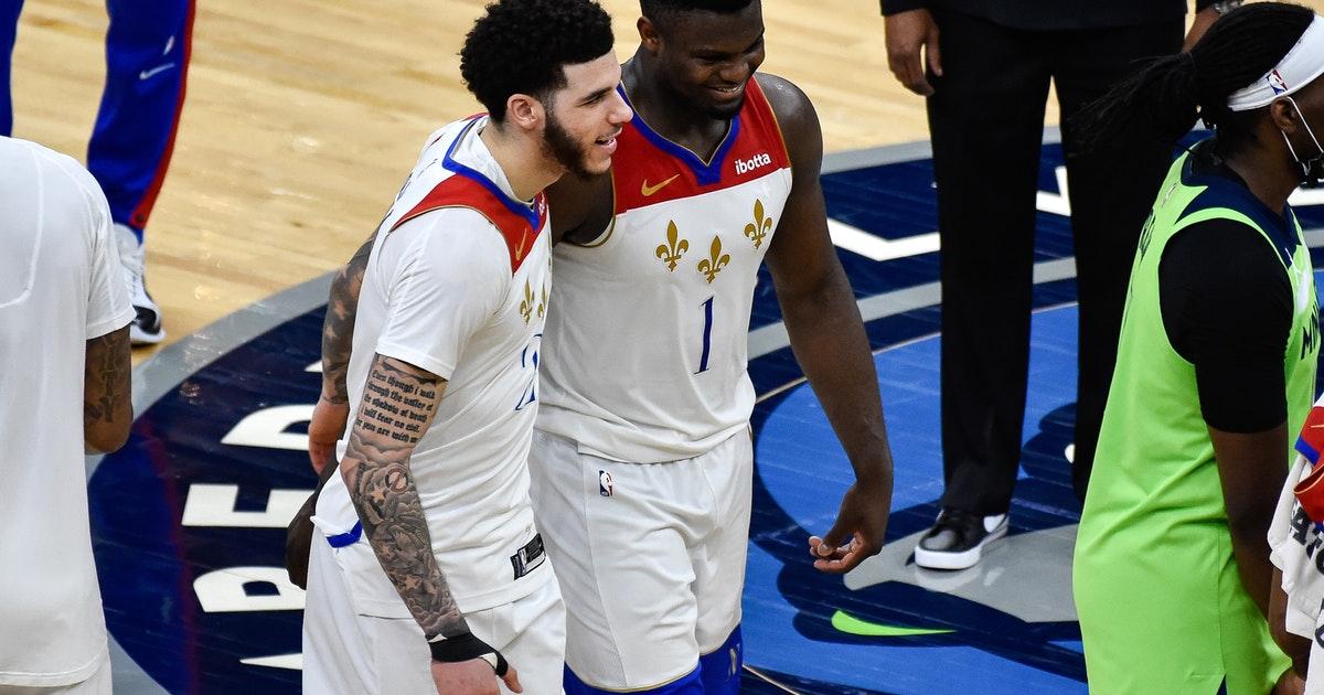 狀元對決!Zion全場17中14轟下37分「打爆」Towns,有天賦在NBA真能為所欲為!(影)-黑特籃球-NBA新聞影音圖片分享社區