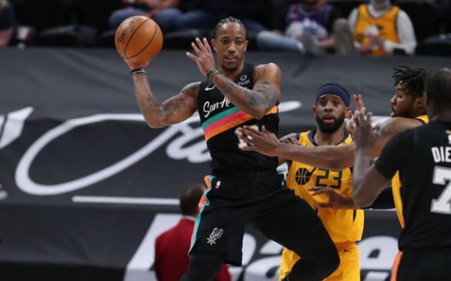 Bojan 25分,Gobert 24+15,DeRozan 22分+6助,馬刺不敵爵士遭四連敗!(影)-黑特籃球-NBA新聞影音圖片分享社區