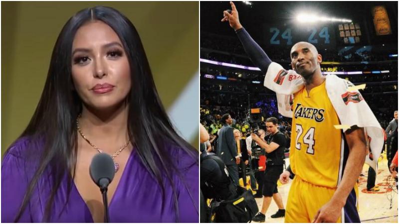 Kobe終進名人堂!瓦妮莎上台致辭強忍淚水:女兒們,你們父親是歷史級別偉人!-黑特籃球-NBA新聞影音圖片分享社區