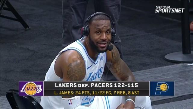 湖人贏球後,詹眉透露身體情況,老詹致敬Kobe:為這球隊奠定基調20年的人!-黑特籃球-NBA新聞影音圖片分享社區