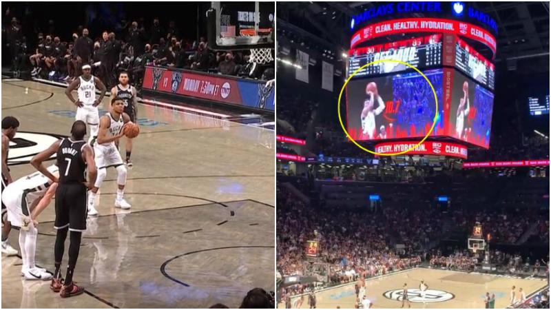 【影片】請撤掉秒錶計時!聯盟要求籃網主場停止干擾字母哥罰球,後者前2場10罰僅中2!-黑特籃球-NBA新聞影音圖片分享社區