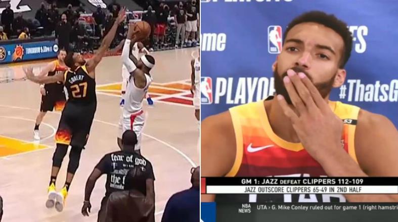 【影片】Gobert談制勝阻攻:我早就知道會傳Morris,我先是假裝協防,然後回身就是一個大火鍋!-黑特籃球-NBA新聞影音圖片分享社區