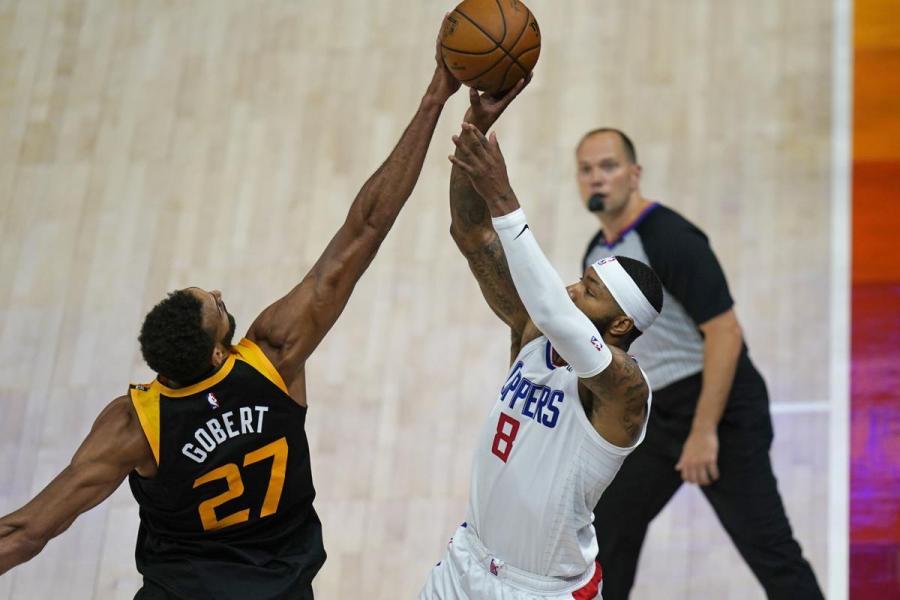 實至名歸!Gobert當選本賽季最佳防守球員,個人生涯第三次獲DPOY!-黑特籃球-NBA新聞影音圖片分享社區