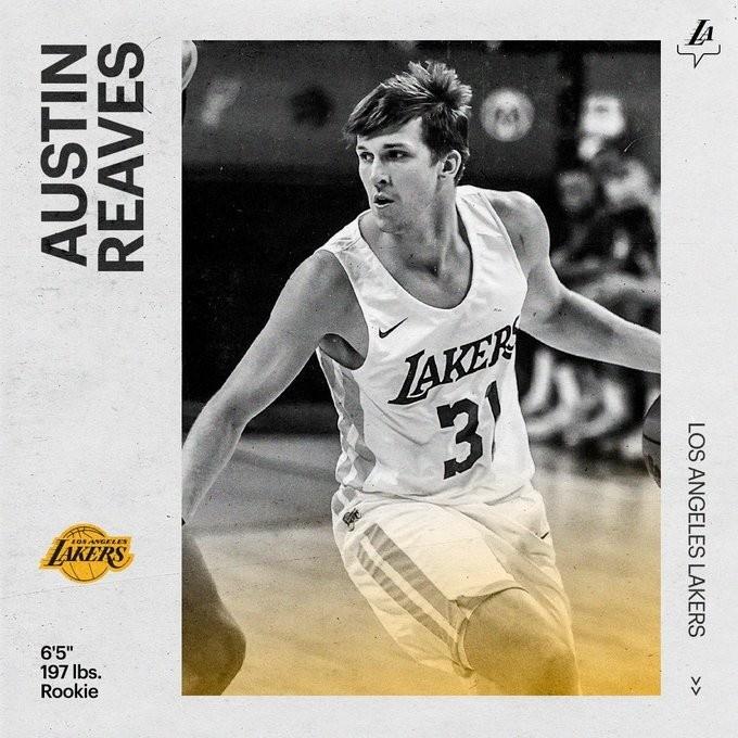 湖人官宣:Austin Reaves和球隊簽下標准合同-黑特籃球-NBA新聞影音圖片分享社區