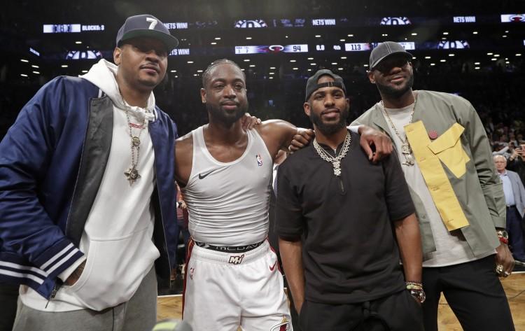 安東尼評心中最佳12人陣容,自己進首發保羅韋德詹姆斯進替補-黑特籃球-NBA新聞影音圖片分享社區