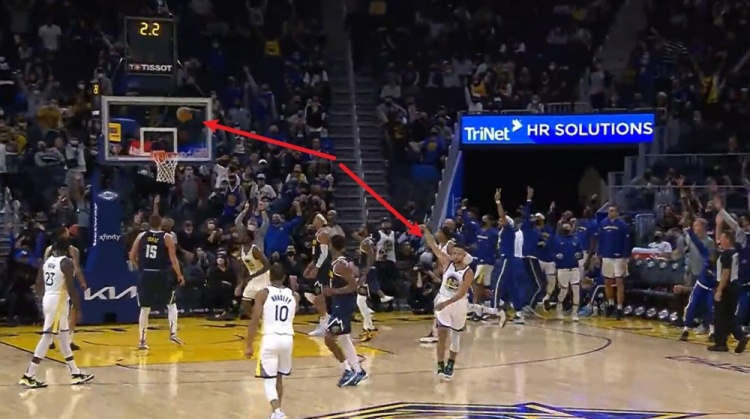 【影片】又讓他裝到了!柯瑞命中1.8秒壓哨三分,球還沒投進,他就提前轉身慶祝!-黑特籃球-NBA新聞影音圖片分享社區